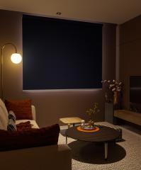 Anthracite Blackout Focus Sun Proof Blackout Roller Blind