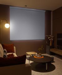Beyaz Blackout Focus Güneş Geçirmeyen Karartma Blackout Stor Perde